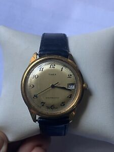 Vintage Timex  Men's Watch Wind Up With Date