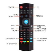 Air Mouse MX3 2.4G Wireless Mini Keyboard Remote Control For Android TV/Box/PC
