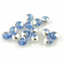 Blue Czech Crystal Jewellery Making Beads