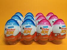 12 x 6 BOYS 6 GIRLS - Chocolate Kinder Joy Surprise Eggs EGG Gift Free