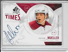 09-10 SP Authentic Peter Mueller Sign Of The times Auto