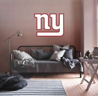 New York Giants NFL Team Logo Color Printed Decal Sticker Car Window Wall
