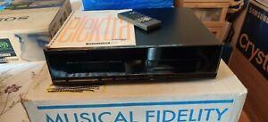 Musical Fidelity E600 CD Player/transport - rare model.