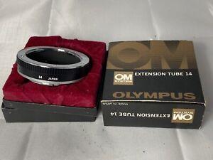 Genuine Olympus OM Extension Tube 14 Fits - OM1 / OM2 / OM3 / OM4, Near Mint