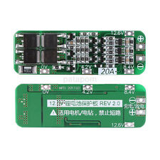 3S 20A 12.6V Charger BMS Protection PCB Board DIY 18650 Lithium ion Pack AU