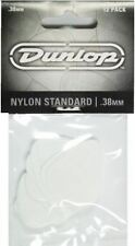 Jim Dunlop Nylon Standard Guitar Picks 12 Pack - .38mm