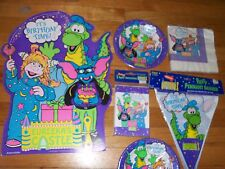 7pc Lot 1991 Trendsetter Eureeka's Castle Birthday Party Goods Multi-color NOS