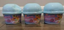 NUM NOMS SNACKABLES SNOW CONES SERIES 2 LOT OF 3