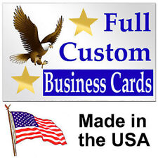 "100 2""x3.5"" Custom Personalized Business Cards"