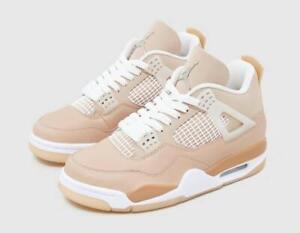 Nike Air Jordan 4 Retro Shimmer DJ0675-200 Women's Sizes NEW