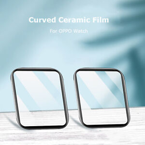 For OPPO Ceramic Watch 41/46MM Curved Full Screen Coverage Watch Film Protector