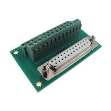 DB25 Female Parallel Port Signals Breakout Board Module Screw Terminal Vertical