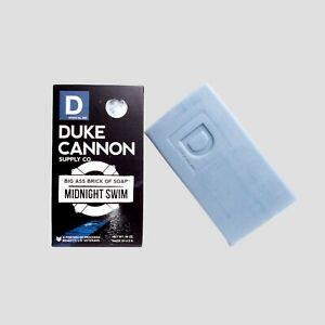 Duke Cannon Midnight Swim Big Brick of Soap Men 10 oz Made In USA Refreshing