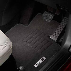 Mazda CX5 KF Carpet Floor Mats, protect original carpet - Genuine KF11ACFM