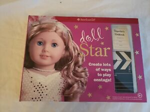 American Girl Doll Activity Kit - doll Star New opened - Play onstage!