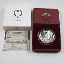 Österreich 10 Euro 2009 Silber PP Der Basilisk