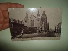 OLD Postcard Owen's College Manchester Raphael Tuck Silverette Franked 1905