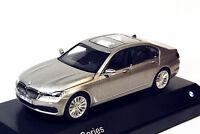 1/43 Dealer Edition BMW New 7 Series 750Li Gold DIECAST MODEL Toy Gift