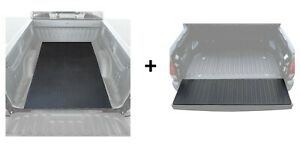 Pickup Truck Bed Mat and Tailgate Pad Heavy Duty Strength Weather Protection