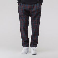 Aime Leon Dore Wool Plaid Trousers Navy size Small 30