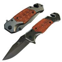 Pocket Rescue Sharp Folding Blade Knife Tactical Survival Hunting Camping Knives