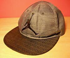 Air Jordan Baseball Cap Gray   Black Kid s 4 7 SnapBack 34336fe0ffbd