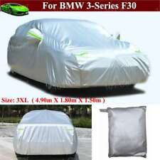 Full Car Cover Waterproof / Windproof / Dustproof for BMW 3-Series F30 2011-2021