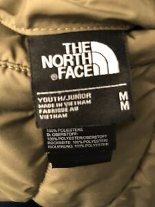 boys north face coat m