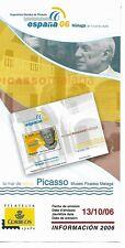 España Picasso Exposición Mundial Filatélia Malaga año 2006 (EX-6)