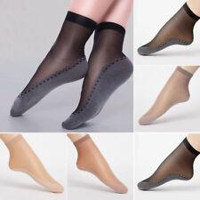Fashion Ultra-thin Women Sexy Elastic Silky Short Silk Stockings Ankle Socks