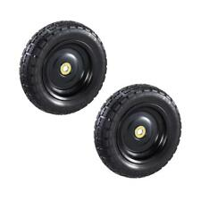 Gorilla Carts No Flat Tire Replacement for Gorilla Carts 10 Inch Wheels 2 Pack