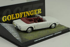 Película James Bond FORD MUSTANG CONVERTIBLE / GOLDFINGER 1:43 IXO