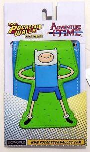 Adventure Time With Finn and Jake Pocketeer Bi-Fold Billfold Pocket Wallet