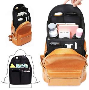 Backpack Nylon Organizer Insert Bag Shoulder Bag Divider Bag Universal US Seller