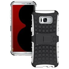Hybrid Case 2 Pieces Outdoor White Pouch For Samsung Galaxy S8 PLUS G955F