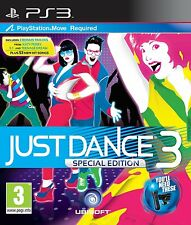 Just Dance 3 Special Edition (PS3) PEGI Rating: Ages 3 & Over NEW factory sealed
