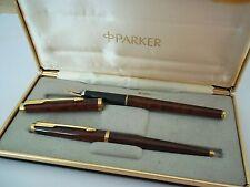 Parure Di Pennini Da Prestige Parker Modello 180 Penna E Sfera IN Scatola Kxxx