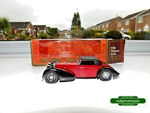 1975 Matchbox Models of Yesteryear # Y17-1 1938 HISPANO SUIZA - MIB - 1:48 Scale