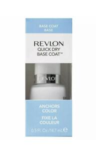 Revlon Quick Dry Base Coat Anchors Color, 0.5 fl oz-Free shipping!