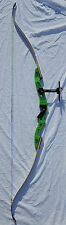 Hoyt Excel Recurve Archery Bow - Custom Green Color