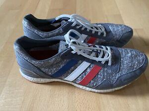 Adidas Adizero Adios Laufschuhe grau Größe 47 ⅓