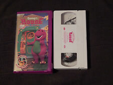 Come on Over to Barney's House + Round and Round We Go (VHS) x 2 - (Clamshells)