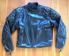 2015  LANGLITZ LEATHERS CASCADE CAFE LEATHER JACKET 46 Ross Worn Twice!
