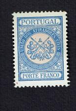 Portugal 1899/1910 União dos Atiradores Porte Franco Franchise MNG