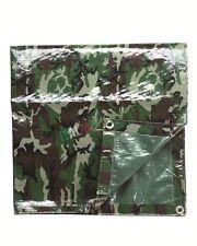 Telo Impermeabile in PVC 3 x 2 MT Mimetico Copertura per Tenda Campeggio Tende