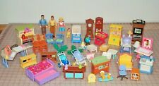 FISHER PRICE LOVING FAMILY DOLLHOUSE FURNITURE & OTHER ITEMS - YOU PICK