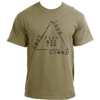 Cheap | Fast | Good - The Engineering Project Triangle | Funny  Engineer T Shirt