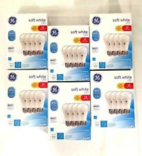 GE LED 60W~10W SOFT WHITE DIMMABLE  LIGHT BULBS 24 Pack