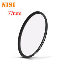 Nisi 77mm Ultra Slim Len UV Filiter For Nikon Canon Sony Pentax Casio Olympus