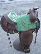 Western saddle bar stool